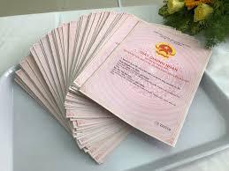 Hồ sơ xin cấp giấy chứng nhận quyền sử dụng đất ở và sở hữu nhà ở (Người Việt Nam)