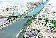 Xây cầu hơn 2.000 tỷ nối khu Nam và khu trung tâm Thành phố
